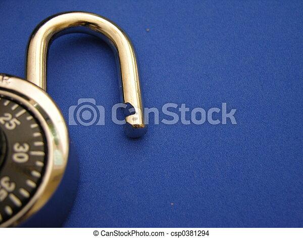 combination lock - csp0381294