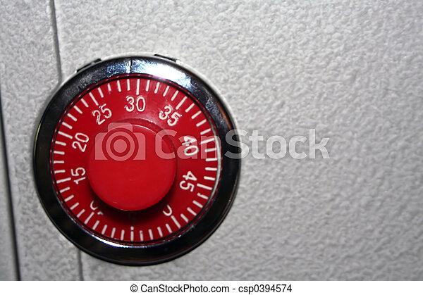 Combination Lock - csp0394574