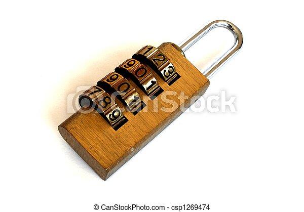 Combination lock - csp1269474