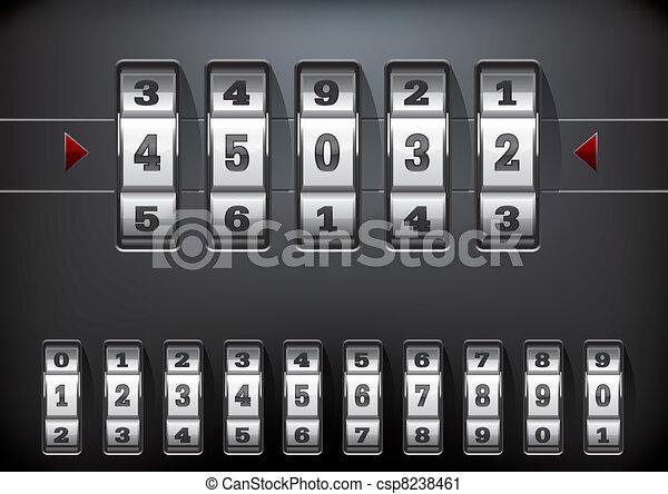combination lock - csp8238461