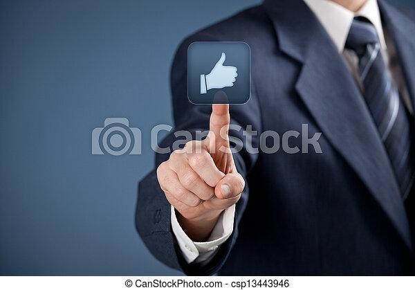 come, sociale, -, media - csp13443946