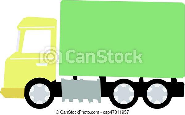 Camión comercial - csp47311957