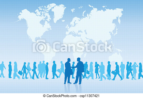 Comercio internacional - csp11307421