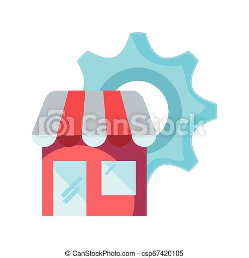 Comercio comercial en línea - csp67420105
