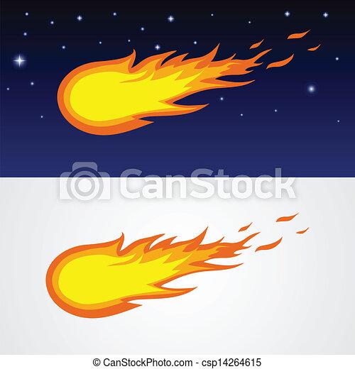 Cometas caricatura - csp14264615