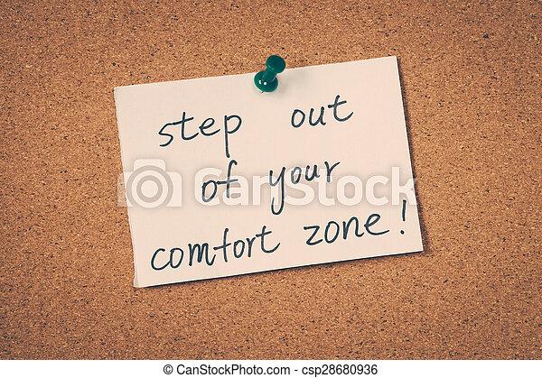 comfort zone - csp28680936