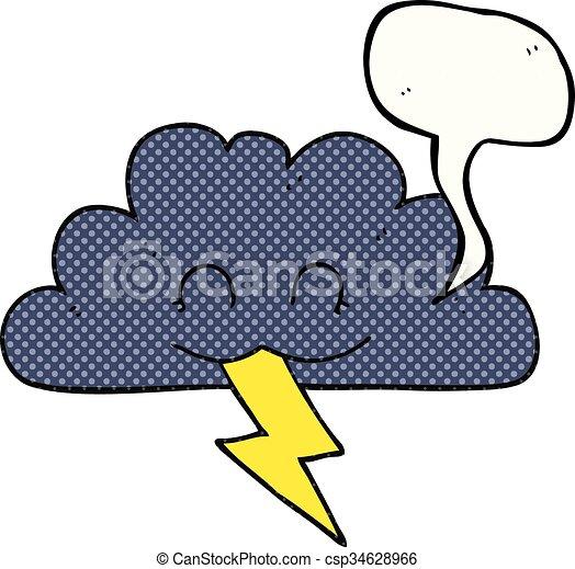 freehand drawn comic book speech bubble cartoon storm cloud clip art rh canstockphoto com storm clipart no background storm clip art images
