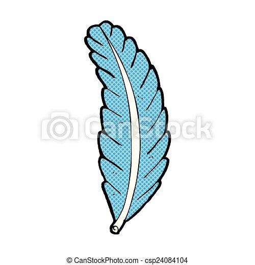 comic cartoon feather retro comic book style cartoon vector rh canstockphoto com feather vector free download feather vector free download