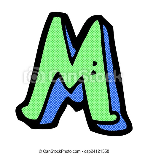 comic cartoon letter m retro comic book style cartoon clipart rh canstockphoto com letter m clipart images letter m clip art monogram images