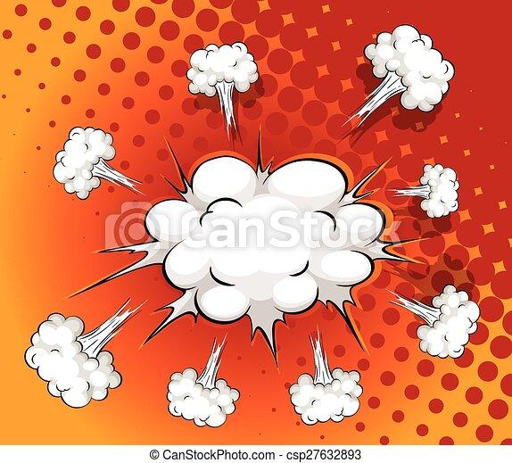 Comic cloud - csp27632893