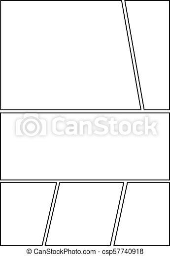 Comic Storyboard Layout 13 Manga Storyboard Layout Template For