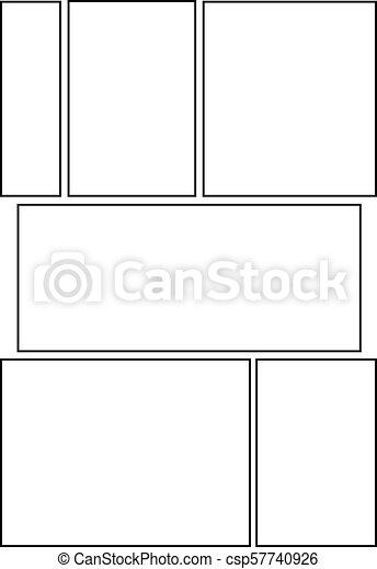 Comic Storyboard Layout 15 Manga Storyboard Layout Template
