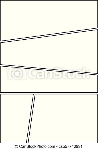 Comic Storyboard Layout 16 Manga Storyboard Layout Template