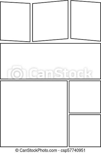 Comic Storyboard Layout 31 Manga Storyboard Layout Template For
