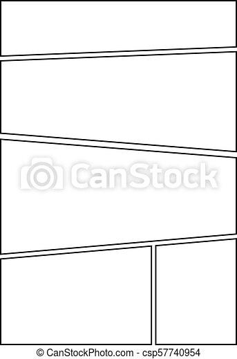 Comic Storyboard Layout 33 Manga Storyboard Layout Template