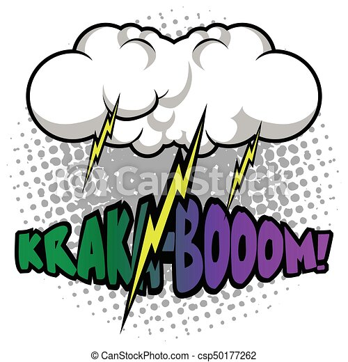 isolated comic thunder storm on a white background vector clip rh canstockphoto com storm clipart gif stormy clip art