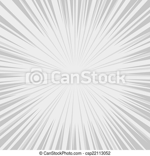 Comics Radial Speed Lines graphic effects. Vector - csp22113052