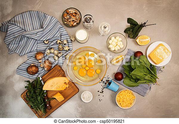 Dieta de queso y huevo