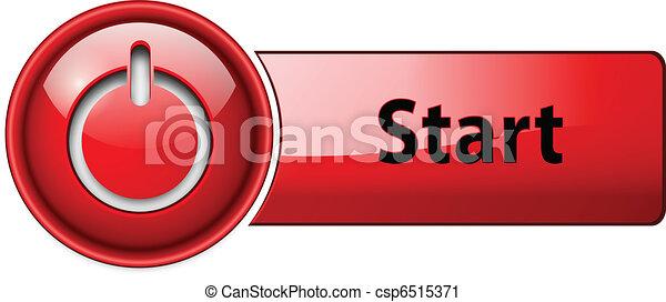 Enciende el botón de icono. - csp6515371
