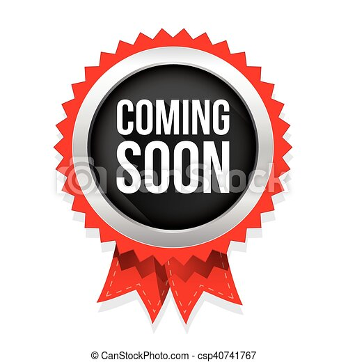 coming soon badge vector clip art vector search drawings and rh canstockphoto ie coming soon clip art free coming soon clipart animated