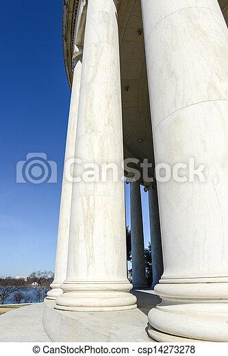commémoratif, jefferson, washington dc - csp14273278