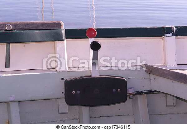command of the boat - csp17346115