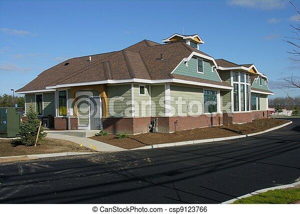 Commercial building construction - csp9123766