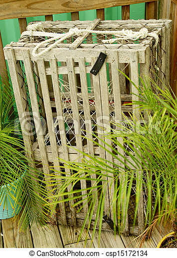 Commercial Lobster Or Crab Trap In Florida