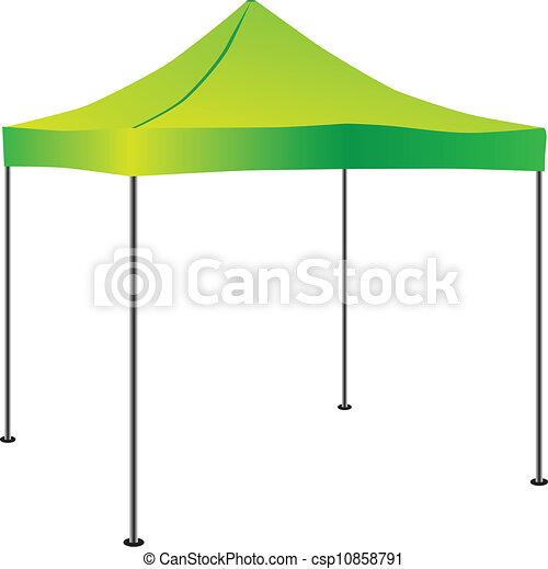 Commercial Pop-Up Tent - csp10858791
