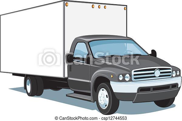 Commercial truck - csp12744553