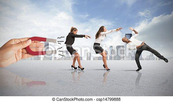 commercialisation, capturer, gens - csp14799888