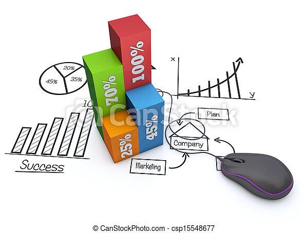 commercialisation, planification - csp15548677