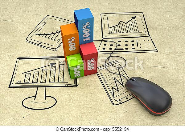 commercialisation, planification - csp15552134