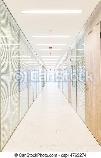 Common office building interior - csp14763274