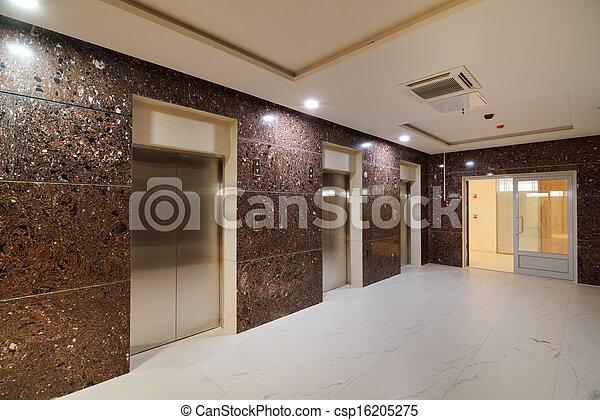 Common office building interior - csp16205275