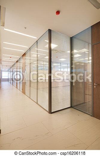 Common office building interior - csp16206118