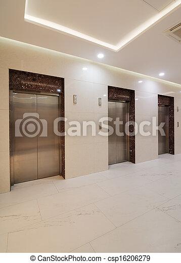 Common office building interior - csp16206279