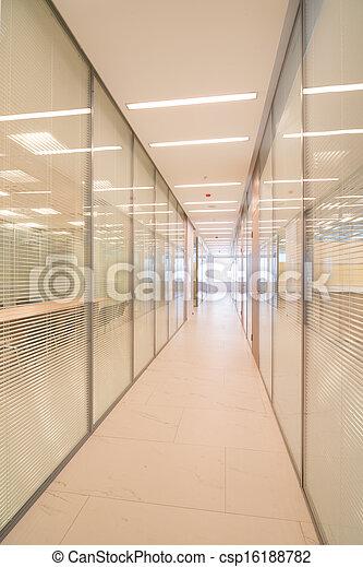 Common office building interior - csp16188782