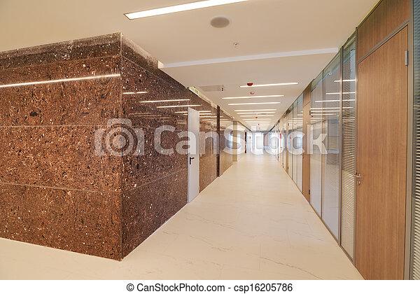 Common office building interior - csp16205786