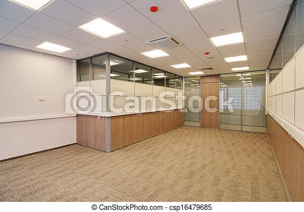 Common office building interior - csp16479685