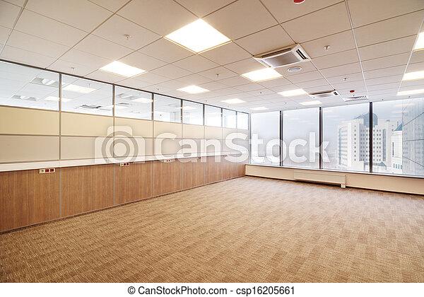 Common office building interior - csp16205661