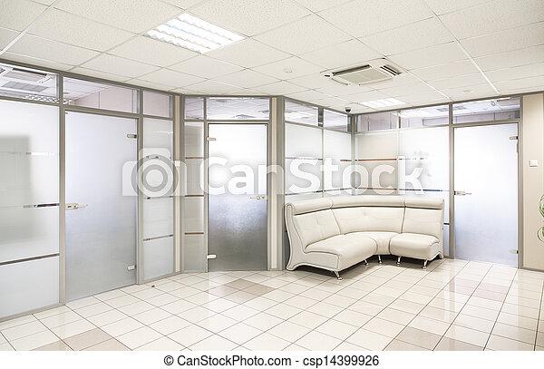 Common office building interior - csp14399926