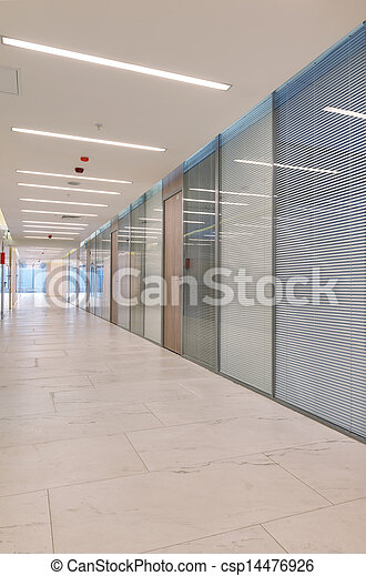 Common office building interior - csp14476926