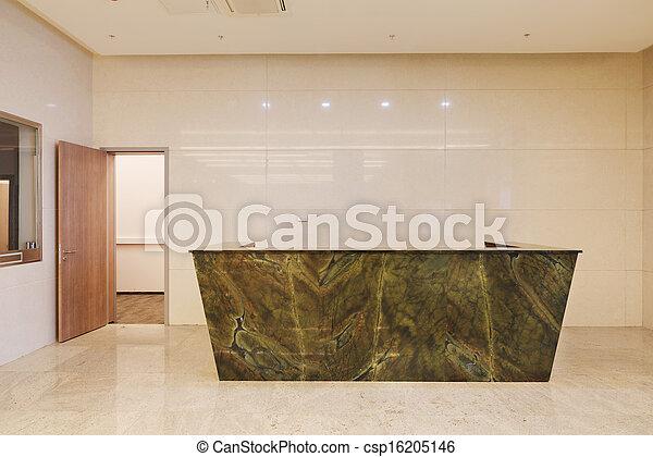 Common office building interior - csp16205146