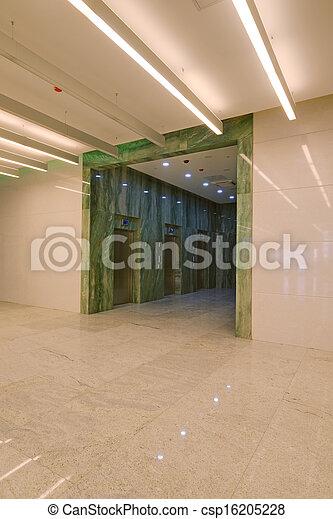 Common office building interior - csp16205228
