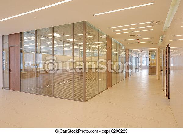 Common office building interior - csp16206223