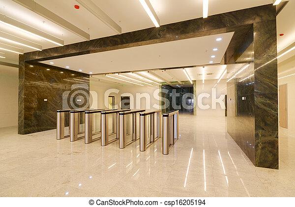 Common office building interior - csp16205194