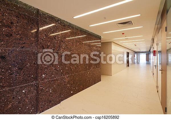 Common office building interior - csp16205892