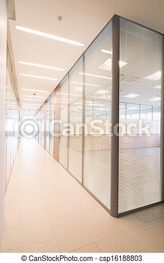 Common office building interior - csp16188803