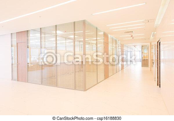 Common office building interior - csp16188830